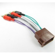 Переходник ISO для подключения аналогового усилителя Huyndai/KIA