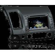 Штатная магнитола для HONDA CIVIC 4D на Android 4