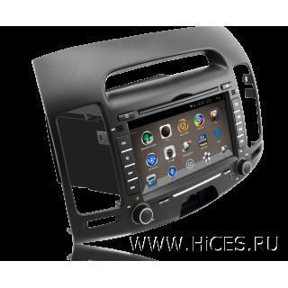 Штатная магнитола для HYUNDAI ELANTRA HD на Android 4