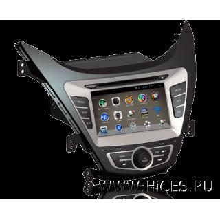 Штатная магнитола для HYUNDAI ELANTRA 5 (MD) на Android 4