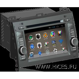 Штатная магнитола для TOYOTA LAND CRUISER PRADO 120 на Android 4