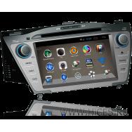 Штатная магнитола для HYUNDAI ix35 на Android 4, емкостный дисплей