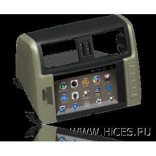 Штатная магнитола для TOYOTA LAND CRUISER PRADO 150 на Android 4
