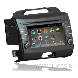 Штатная магнитола для KIA SPORTAGE 3 на Android 4