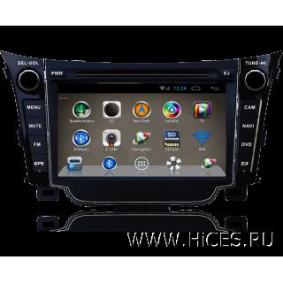 Штатная магнитола для HYUNDAI i30 на Android 4