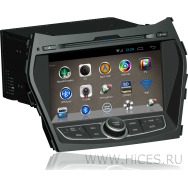 Штатная магнитола для HYUNDAI SANTA FE 3 на Android 4