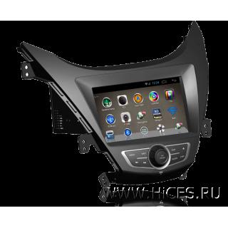"Штатная магнитола для HYUNDAI ELANTRA 5 (MD) 8"" на Android 4"