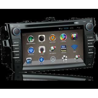 Штатная магнитола для TOYOTA COROLLA E150 на Android 4