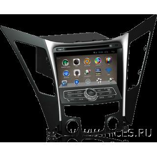 Штатная магнитола для HYUNDAI SONATA 6 на Android 4
