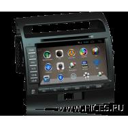 Штатная магнитола для TOYOTA Land Cruiser 200 на Android 4