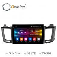 Штатная магнитола Ownice C500+ S1610P для Toyota Rav4, 2013 (Android 6.0)