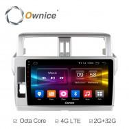Штатная магнитола Ownice C500+ S1614P для Toyota Prado 150, 2013 (Android 6.0)