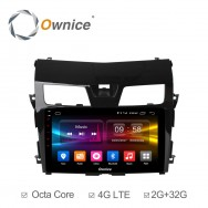 Штатная магнитола Ownice C500+ S1665P для Nissan Teana 3 (Android 6.0)