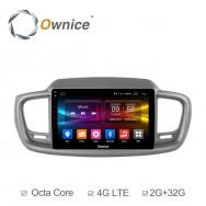 Штатная магнитола Ownice C500+ S1738P для KIA Sorento 3 Prime (Android 6.0)
