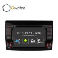 Штатная магнитола Ownice C500 S7926G для Fiat Bravo (Android 6.0)