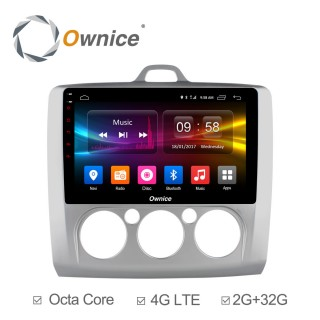 Штатная магнитола Ownice C500+ S9201P-M для Ford Focus 2 (Android 6.0)