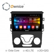 Штатная магнитола Ownice C500+ S9205P для Ford Mondeo 5 (Android 6.0)