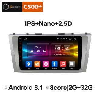 Штатная магнитола Ownice C500+ S9606P для Toyota Camry v40 (Android 6.0)