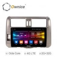 Штатная магнитола Ownice C500+ S9613P для Toyota Prado 150 (Android 6.0)