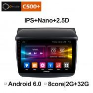 Штатная магнитола Ownice C500+ S9635P для Mitsubishi Padjero Sport (Android 6.0)