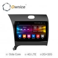 Штатная магнитола Ownice C500+ S9732P для KIA Cerato 3 (Android 6.0)
