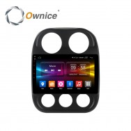 Штатная магнитола Ownice G10 S1252E для Jeep Compass (Android 8.1.0)