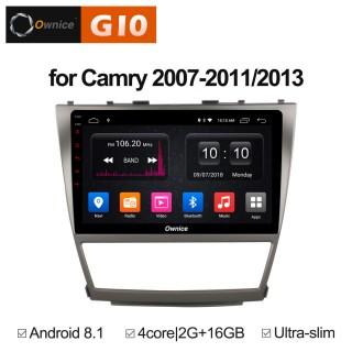 Штатная магнитола Ownice G10 S1606E для Toyota Camry v40 (Android 8.1)