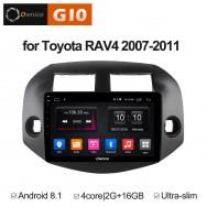 Штатная магнитола Ownice G10 S1609E для Toyota Rav4, 2006 (Android 8.1)