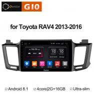 Штатная магнитола Ownice G10 S1610E для Toyota Rav4, 2013 (Android 8.1)