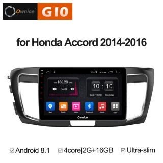Штатная магнитола Ownice G10 S1642E для Honda Accord 9 (Android 8.1)