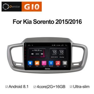 Штатная магнитола Ownice G10 S1738E для KIA Sorento 3 Prime (Android 8.1)