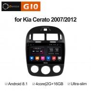 Штатная магнитола Ownice G10 S1741E для KIA Cerato 2 (Android 8.1)