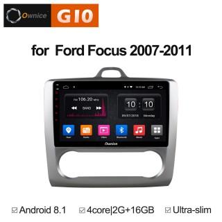 Штатная магнитола Ownice G10 S9201E-A для Ford Focus 2 (Android 8.1)