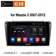 Штатная магнитола Ownice G10 S9503E для Mazda Mazda 3, 2004-2009 (Android 8.1)