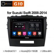 Штатная магнитола Ownice G10 S9621E для Suzuki Vitara 2 (Android 8.1)