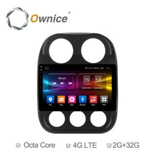Штатная магнитола Ownice C500+ S1252P для Jeep Compass (Android 6.0)