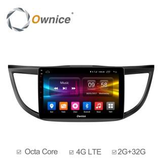 Штатная магнитола Ownice C500+ S1641P для Honda CR-V 4 (Android 6.0)