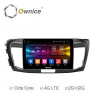 Штатная магнитола Ownice C500+ S1642P для Honda Accord 9 (Android 6.0)