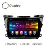 Штатная магнитола Ownice C500+ S1663P для Nissan Murano 3, Z52 (Android 6.0)