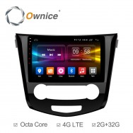 Штатная магнитола Ownice C500+ S1667P для Nissan Qashiqai 2 (Android 6.0)