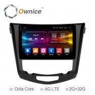 Штатная магнитола Ownice C500+ S1668P для Nissan X-trail 3 (Android 6.0)