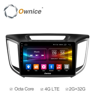 Штатная магнитола Ownice C500+ S1701P для Hyundai Creta (Android 6.0)