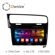 Штатная магнитола Ownice C500+ S1907P для Volkswagen Golf 7 (Android 6.0)