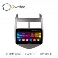 Штатная магнитола Ownice C500+ S9226P для Chevrolet Aveo 3 (Android 6.0)