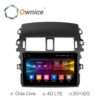 Штатная магнитола Ownice C500+ S9605P для Toyota Corolla E150 (Android 6.0)
