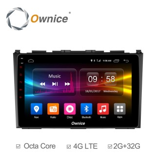 Штатная магнитола Ownice C500+ S9640P для Honda CR-V 3 (Android 6.0)