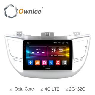 Штатная магнитола Ownice C500+ S9705P для Hyundai Tucson 2016 (Android 6.0)