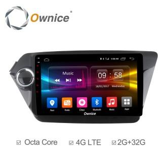 Штатная магнитола Ownice C500+ S9731P для KIA RIO (Android 6.0)